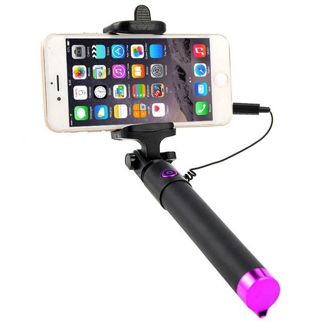 Bastone per selfie con cavo lightning per iPhone 7 - 8 - X - Punto ...