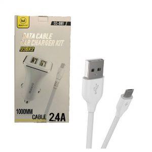 EP LN915 Caricabatteria da Auto, Micro USB USB Punto